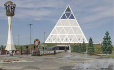 Astana, Kazakistan, Palazzo della Pace e Riconciliazione by Norman Foster,