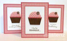 CTMH Sophia birthday cupcake card (love this version!)