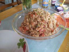 Πληγουρι ταμπουλε! Tambule salad! Fried Rice, Fries, Tasty, Ethnic Recipes, Food, Essen, Meals, Nasi Goreng, Yemek