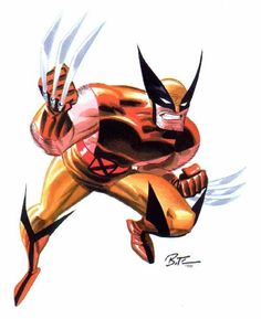 Wolverine by Bruce Timm