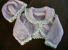 Ravelry: Bolero and Hat with Picot Trim pattern by Sirdar Spinning Ltd.