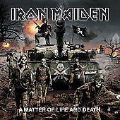 A Matter of Life and Death by Iron Maiden (CD 2006, Sanctuary) FREE SHIPPING #BritishMetalNWOBHMIndustrialMetalPowerProgressiveMetal