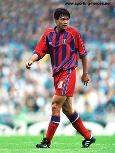 Fan Zhiyi - What a player this guy was. Crystal Palace Fc, Red And Blue, Men Casual, Football, Fan, Guys, Celebrities, Mens Tops, Legends