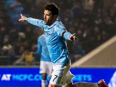 David Villa entra en la historia de New York City al anotar el primer gol de la franquicia