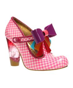 Take a look at this Pink Love You T-Strap Pump by Irregular Choice on #zulily today! weird but cool lol