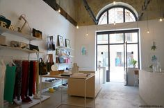 Set on a side street in the heart of Bratislava's Old Town, there are three hip designer shops which are some of the best choices when it comes to buying so