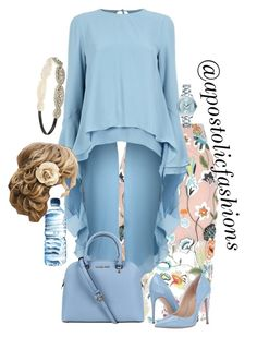A fashion look from October 2017 featuring Antonio Berardi blouses, River Island skirts i Steve Madden pumps. Browse and shop related looks. Modest Wear, Modest Outfits, Classy Outfits, Pretty Outfits, Casual Outfits, Cute Outfits, Modest Clothing, Skirt Outfits, Cute Fashion