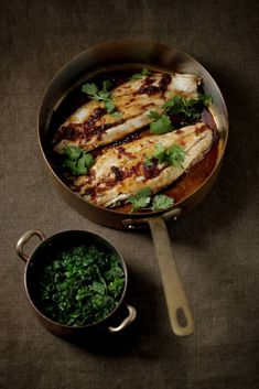 Wild Caught Snapper with Wilted Greens