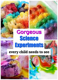 Science is spectacular! These easy science experiments for kids are sure to ignite a spark and build a lifelong love for Science. Incredible science experiments for kids of all ages! Easy Science Experiments, Cool Science Experiments, Stem Science, Science Fair, Science Chemistry, Physical Science, Science Education, Earth Science, Science Centers