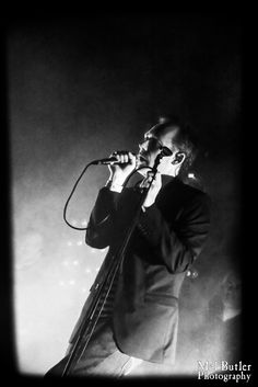 Jim Reid. The Jesus And Mary Chain. Cosmosis Festival, Manchester, March 2016.