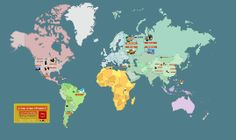 ¿Cómo vemos el mundo?: Expresiones y modismos en español que hacen referencia a países del mundo. Creado por ProfeDeELE.es #Prezi #Spanish #SpanishTeachers