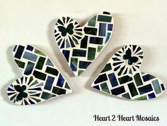 Heart 2 Heart Refrigerator Mosaics by Heart2HeartMosaics on Etsy, $18.00