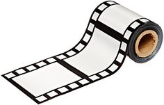 Beistle Filmstrip Poly Decorating Material Party Accessory by 50 Hollywood Thema, Hollywood Party, Movie Themes, Party Themes, Party Ideas, Themed Parties, Birthday Parties, Red Carpet Party, Paper Streamers