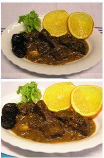 Szarvascomb narancsos-aszalt szilvás mártásban Bacon, Food And Drink, Cooking Recipes, Beef, Drinks, Meat, Drinking, Beverages, Chef Recipes