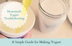 Yogurt Making Troubleshooting ~ 5 Common Mistakes