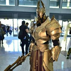 My brother's Imperius costume took third place at Blizzcon this year. Couldn't be more proud! - Imgur