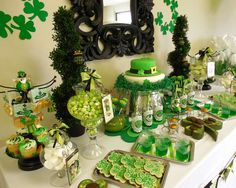 St. Patrick's Day Birthday Party Ideas | Photo 16 of 24 | Catch My Party
