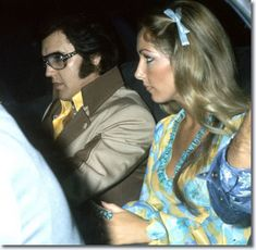 Elvis Presley and Linda Thompson - Charleston West Virginia July 16, 1975