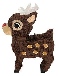 Christmas Reindeer Pinata - Shopifx.com