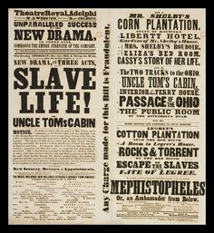 Uncle Tom's Cabin - influence of the Fugitive Slave Act