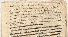 """Histoire de ma vie"" by Giacomo Casanova (original manuscript)"