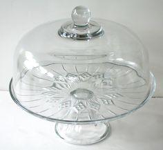 Anchor Hocking Union Square Cake Dome
