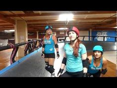 Bo Toxic of the San Diego Derby Dolls teaches the Waitress