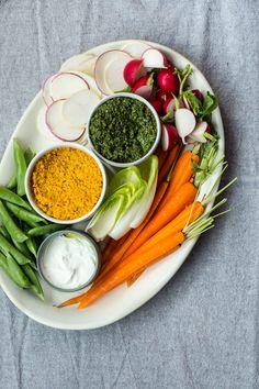 Carrot Top Pesto + Carrot Root Pesto