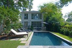 Virginia-Highland Residence - transitional - pool - atlanta - Muffley & Associates