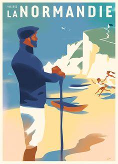 Las ilustraciones con sabor a cartel clásicode Mads Berg