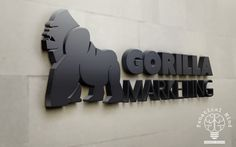 Gorilla Marketing Logo Design - http://fanaticalmind.com/portfolio-item/gorilla-marketing-logo-design