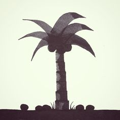 Calligraphy Palm Tree #calligraphy  #calligraphynature #palmtree #tree #coconut…