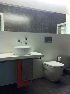 Reforma baño estilo #nordico y acabados grises | #bathroom #nordic #style #design