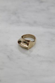 Quarry Wall Ring, $126