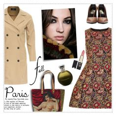 """""""PARIS"""" by veronica7777 ❤ liked on Polyvore featuring Dorothy Perkins, AX Paris, Yves Saint Laurent, Catherine Malandrino, L'Oréal Paris and Post-It"""