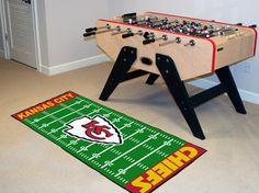 Kansas City Chiefs Football Field Runner