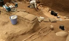 THE Philistines may have originated from Southern Europe according to studies on human remains in an ancient cemetery near Ashkelon, Israel.