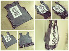 Sac sans couture DIY - transformer un tee-shirt