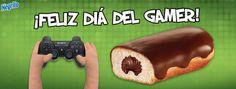 Hoy es un día muy funk para todos nuestros video gamers, celebra este día echándote un buen game y un Negrito Bimbo, ¿cuál es tu video juego favorito?