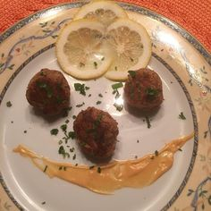 #FlaveryTM Lemon Basil Tuna Balls   #tuna #evoo #oliveoil #herbs #lemon #basil #onion #avocado oil #dippingsauce #honey #smoked #paprika #baked #appetizer  #Simple #fitchick #fitchic #fitfood Add #flavor not #fat  #Fitness #eathealthy #healthyfood #healthyeats #homechef #chef #create #food #foodie #fbf 🍋🌿🐟