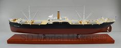"""48"""" US Army Transport Ship Model USAT Brigadier General M. G. Zalinski was a U.S. Army transport ship that served in World War II. It sank in 1946 in the Grenville Channel in British Columbia's Inside Passage. SD Model Makers builds replica models in virtually ANY size or scale desired! Contact us for a quote. www.sdmodelmakers.com"""