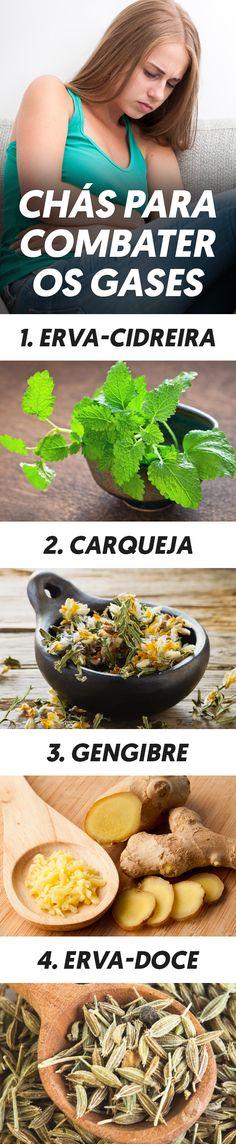 Os chás de ervas são uma ótima alternativa caseira para ajudar a eliminar os gases intestinais, diminuindo o inchaço e a dor, e podem ser tomados assim que os sintomas aparecem ou na rotina diária.