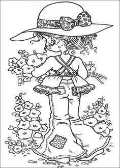 Sarah Kay Kleurplaten voor kinderen. Kleurplaat en afdrukken tekenen nº 2