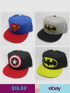 3ace84b43420f New Superman Batman Captain Snapback Baseball Cap Hat Adjustable For Child  Kid. eBay Australia · Products