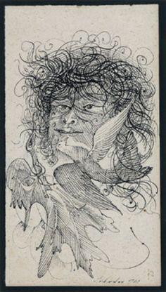 Ink on paper Anton, Austria, Ink, Paper, Artwork, Image, Work Of Art, Auguste Rodin Artwork, Artworks
