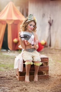 Vintage Circus Costume, Genie Costume, Child's Halloween Costume, Unique Girl's Costume on Etsy, $270.18 CAD