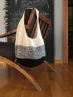 Crochet Hobo Bag, Free Crochet Bag, Crochet Shoulder Bags, Crochet Market Bag, Knit Crochet, Crochet Bags, Bag Pattern Free, Crochet Accessories, Crochet Projects