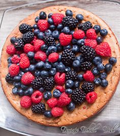 Goat Cheese cake with Mixed Berries | Daria's Delish Dish|cooking blogs|healthy recipes |