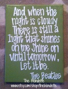 The Beatles ~ Let It Be