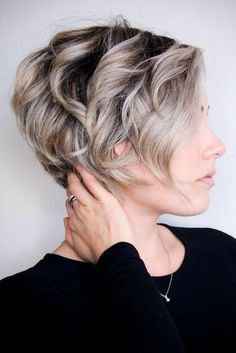 10 Messy Hairstyles for Short Hair Quick Chic! Women